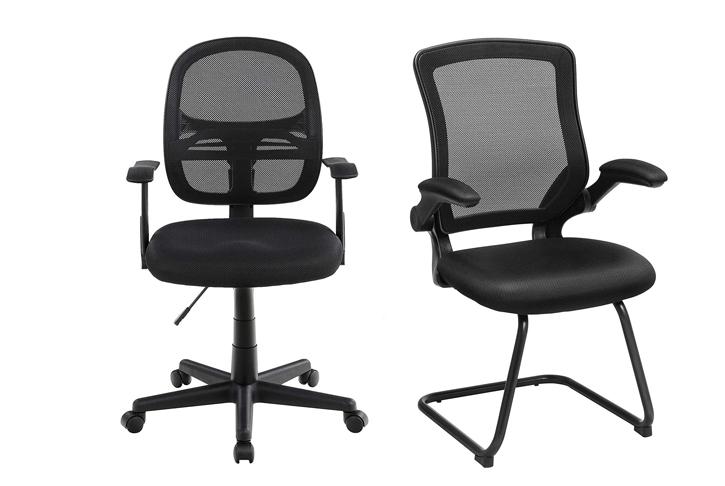 Breed assortiment aan kantoorstoelen